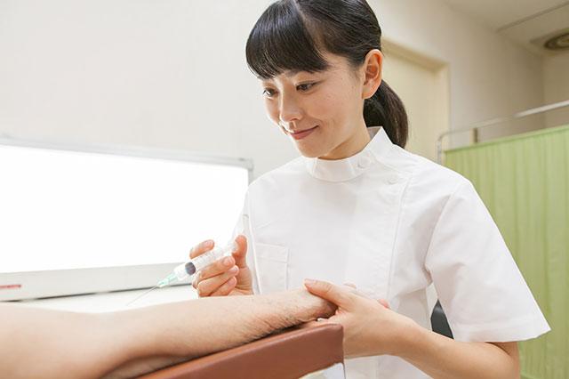 看護師は注射の名人?注射を打つ場合の注意点とは?