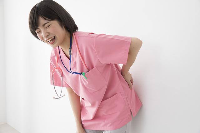 ナースの腰痛に関するニュース