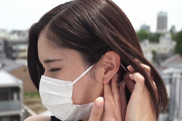 ナースにとって耳が痛くならないマスクは必需品!