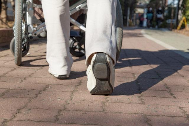 ナースの仕事と靴について